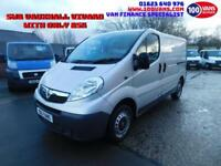 VAUXHALL VIVARO 2.0CDTi 90PS 2900 SWB IN SILVER WITH ONLY 85K