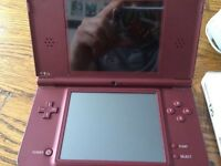Nintendo DSI xl with Dragonball game