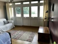 Large double bedroom in light-filled zone 1 flat