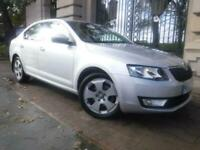 201363 SKODA OCTAVIA 1.6 SE TDI CR 5 DOOR 104 BHP DIESEL HATCHBACK MANUAL SILVER