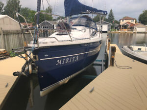 Tes 28 trailerable sailboat