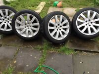 Range Rover sport genuine alloys wheels and tyres