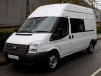 2012 61 FORD TRANSIT 350 LWB HIGH ROOF MESS / UTILITY 2.2 RWD 125 BHP 6 SPEED