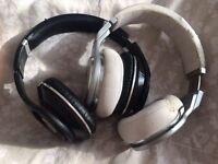 2x Beats by Dre Headphones