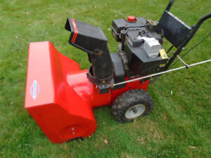 8 HP Craftsman Snowblower
