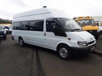 Ford TRANSIT 350 LWB 16 seat minibus **One owner 95k miles**