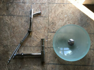 Vasque robinet drain