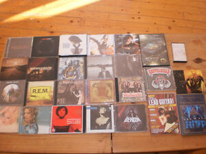 cd et dvd bues rock