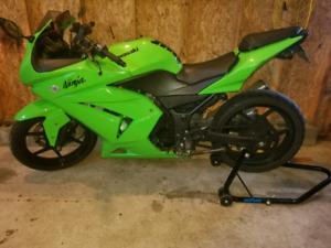 Ninja 250R. Ready to ride