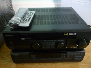 Kenwood CD Player and Audio Video Surround Receiver