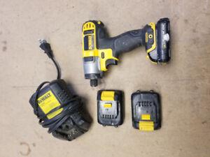 Dewalt 12v impact drill