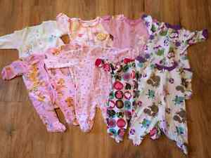 Huge 0-6 Month Lot of Baby Girl Clothing!!!