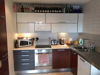 Stunning 2 Bed 2 Bath Manchester City Center apartment with parking and leisure facilities