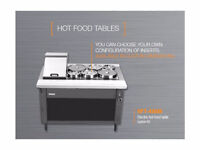 MKE HFT-48GW Gas Hot Food Table