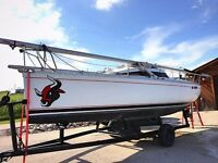 1989 Beneteau 235 First Liberty Edition with Trailer