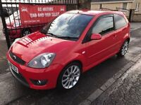 2008 FORD FIESTA 2.0 ST, WARRANTY, FINANCE, NOT VXR SRI GTI 192 SXI TURBO WRX