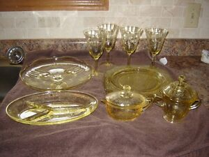 DEPRESSION DISHES , GREEN CANDY DISH London Ontario image 6