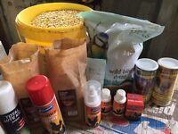 Poultry & birds food stuff