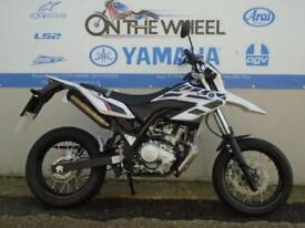 2016 YAMAHA WR 125 X WHITE/BLACK **HPI CLEAR** **VERY LOW MILES**