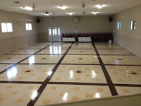 STRIPPING, WASHING AND WAXING FLOORS