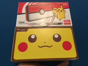 Brand New 2ds xl Pikachu and Pokeball Edition