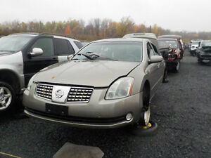 2004 Nissan Maxima Now Available At Kenny U-Pull Cornwall