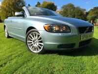 *3 MTHS WARRANTY*ONLY 48K FSH*2006(06)VOLVO C70 2.4 SE AUTO CONVERTIBLE HARD TOP