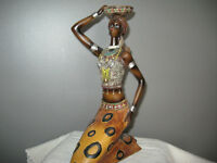 African Lady Decor
