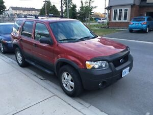 Ford  Escape 2006, 160000km in very good condition