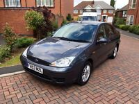 Ford Focus 1.6LX 53 reg saloon 1 previous owner from new