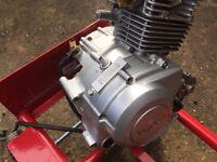 Yamaha Ybr125 engine