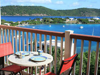 Golf beach Let's go to St Thomas US Virgin islands condo rental