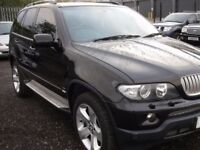 BMW X5 2006 MODEL 4,4 AUTOMATIC FULLY LOADED SAT NAV SKY TV EVERY EXTRA DRIVES LIKE NEW !!!