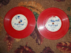 KIDDIE RECORD 6 INCH 78RPM PLAYTIME RECORDS