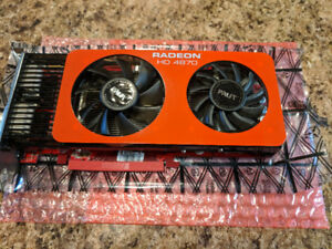 Radeon HD 4870, 512mb Video Card. Used, excellent condition