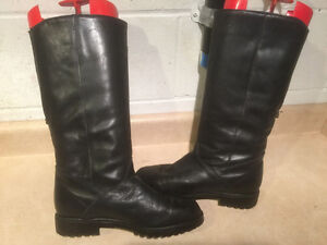 "Women's ""College"" Tall Leather Winter Boots Size 8 London Ontario image 6"