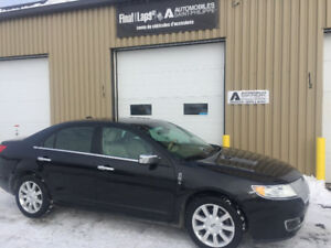2010 Lincoln MKZ 3.5 Litres cuir, mags 17po. no rust clean