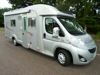 REDUCED 2010 4 Berth Rapido 7065 Motorhome Twin Single Rear Fixed Beds For Sale