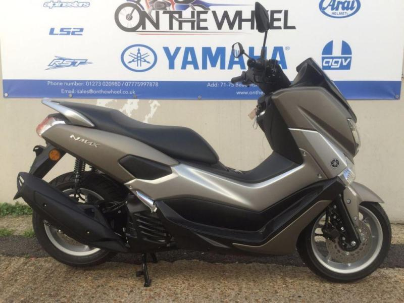 2017 yamaha nmax 125 abs matt grey brand new on the road. Black Bedroom Furniture Sets. Home Design Ideas