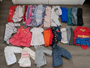 EUC 0-6M Girls Lot