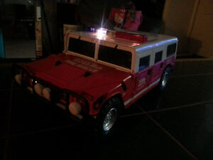 TONKA FIRE RESCUE WITH BRAND NEW BATTERIES INCLUDED ONLY 7$