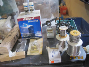Stained glass equipment and materials for sale