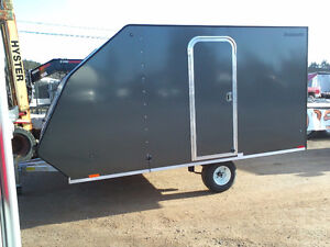Great Prices on Hybrid Style 2 Place Snowmobile Trailer!