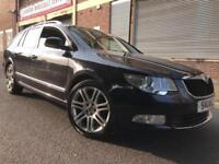 Skoda Superb 2011 2.0 TDI CR DPF Elegance DSG 5 door ESTATE, HUGE SPEC, FSH, NAV