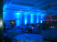 CAMBRIDGE UP-LIGHTING FOR YOUR NEXT EVENT