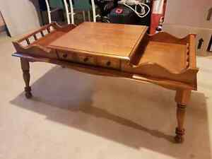 Tiered coffee table with drawer Windsor Region Ontario image 1