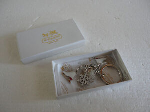 Brand new Coach keychain keyring skates mitts gloves  charms London Ontario image 2