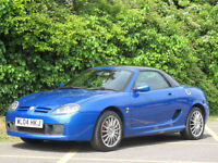 2004 MG TF 1.8 135 CONVERTIBLE/HARDTOP - ONLY 57000 MILES FROM NEW !!
