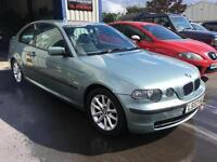 53 BMW 316 1.8 ti ES Compact. Superb condition throughout.