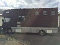 Mercedes 814 Horsebox for sale